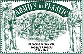 Armies in Plastic Roger's Rangers French and Indian War Figures Offered By Classic Toy Soldiers, Inc