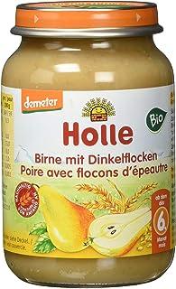 Holle Birne mit Dinkelflocken, 6er Pack 6 x 190 g - Bio