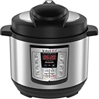 Instant Pot LUX Mini 3 Qt 6-In-1 Multi- Use Programmable Pressure Cooker