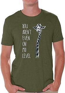 Awkward Styles You aren`t Even On My Level T-Shirt Giraffe Shirt