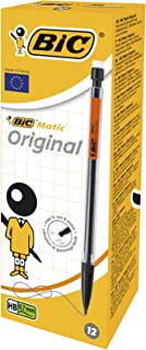 Bic Mechanical Pencil 0,7mm Pack Of 12 Pieces, 11BIC820959 (Pack Of 12 Pieces Including 3 HB Leads)