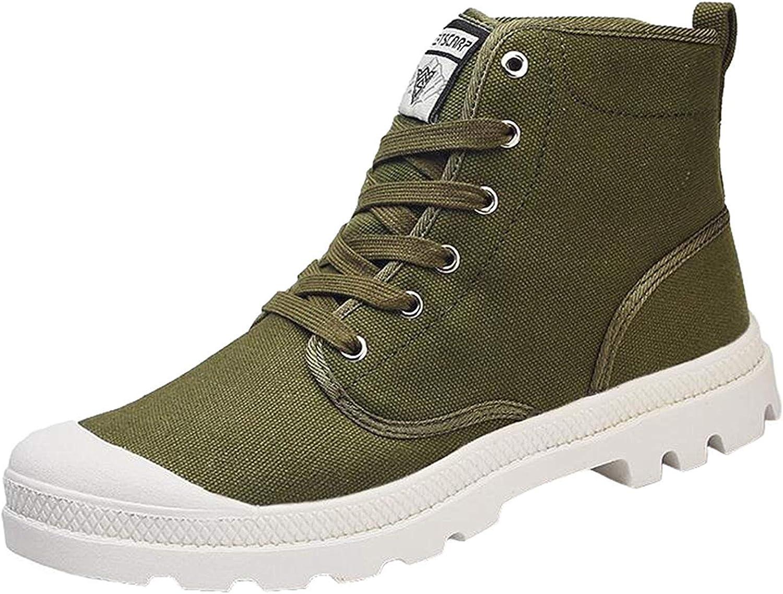 MOREMguldO Män's High -Top duk Lace Lace Lace upp skor utomhus Casual skor  billigare