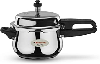 Butterfly Stainless Steel 3-Liter Curve Pressure Cooker