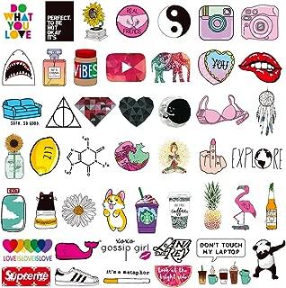 Teen Girl Laptop Stickers Cute Cartoon Water Bottles Phone Car Skateboard Computer Bike Vinyl Decals 45pcs