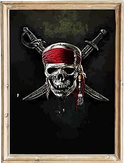 FANART369 Pirates of the Caribbean On Stranger Tides #6 affisch A3-storlek filmaffisch original fanart väggkonst tryckt de...