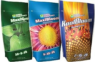General Hydroponics GLCMBX0008 Maxigro, Maxibloom, Koolbloom Combo, 2.2 Lb Fertilizer