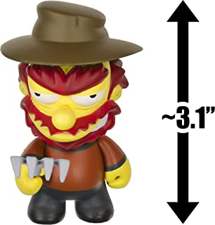 ~1.5 Woo Hoo 25th Anniversary x Kidrobot Micro Charm Keychain Series The Simpson Skateboard