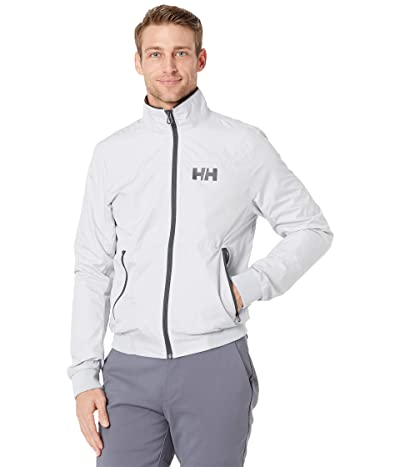 Helly Hansen Crew Windbreaker Jacket (Grey Fog) Men