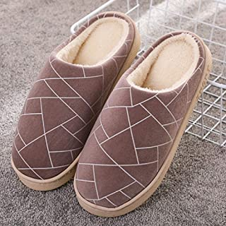 Breathable Memory Foam Slippers,Cotton Slippers Women's Platform Winter Cute Home Home Couple Indoor Warm Cotton Drag Slip