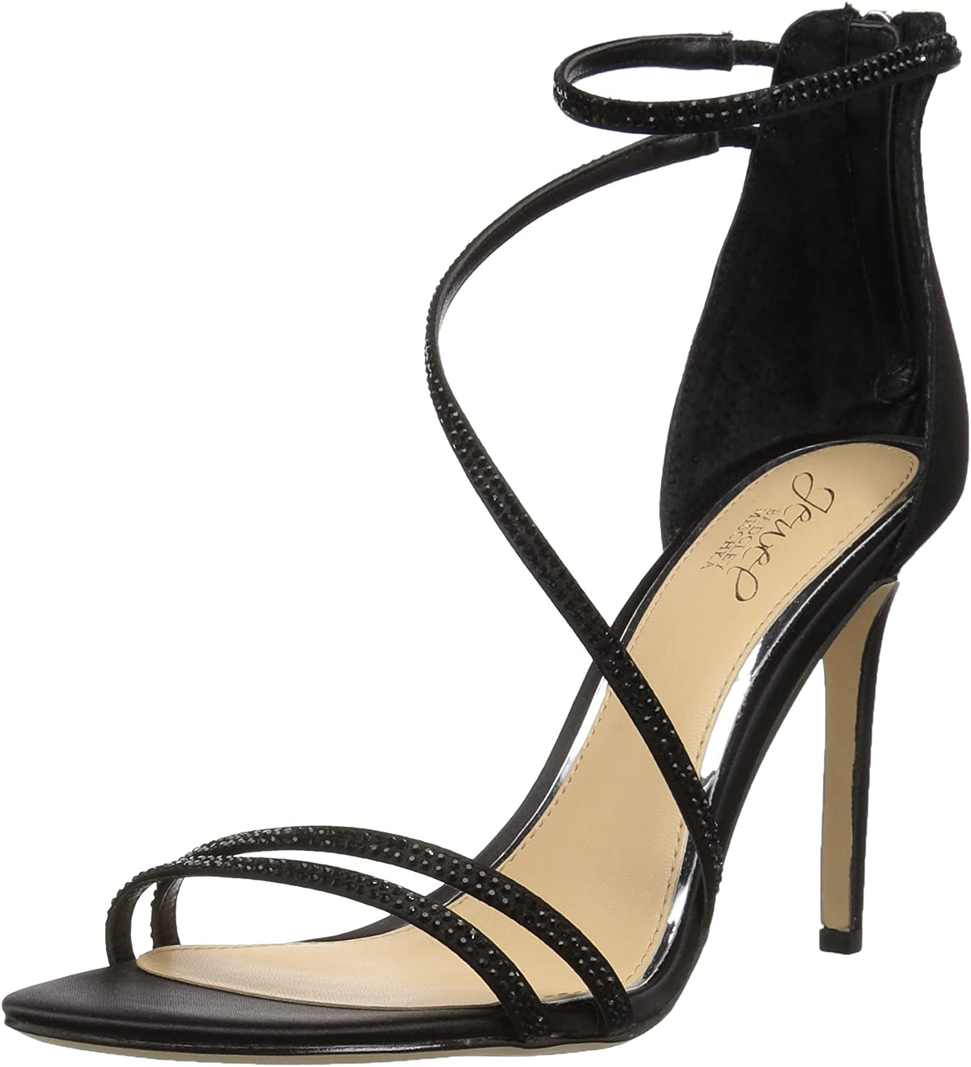Badgley Mischka Womens Gail Heeled Sandal