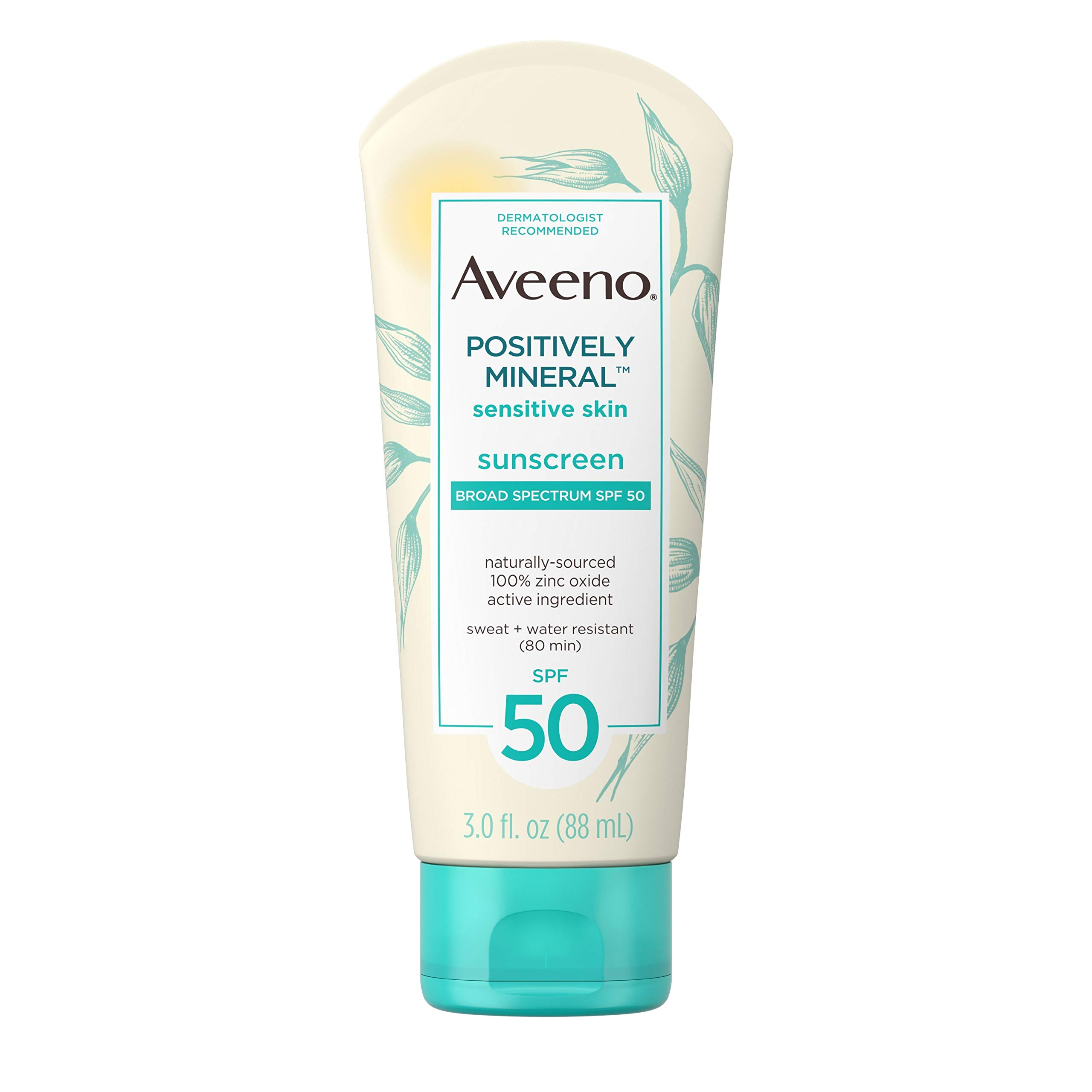 Aveeno Positively Water Resistant TSA Friendly Travel Size