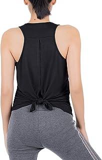 Lofbaz Träning linne för kvinnor yoga gym tröjor träning atletiska kläder
