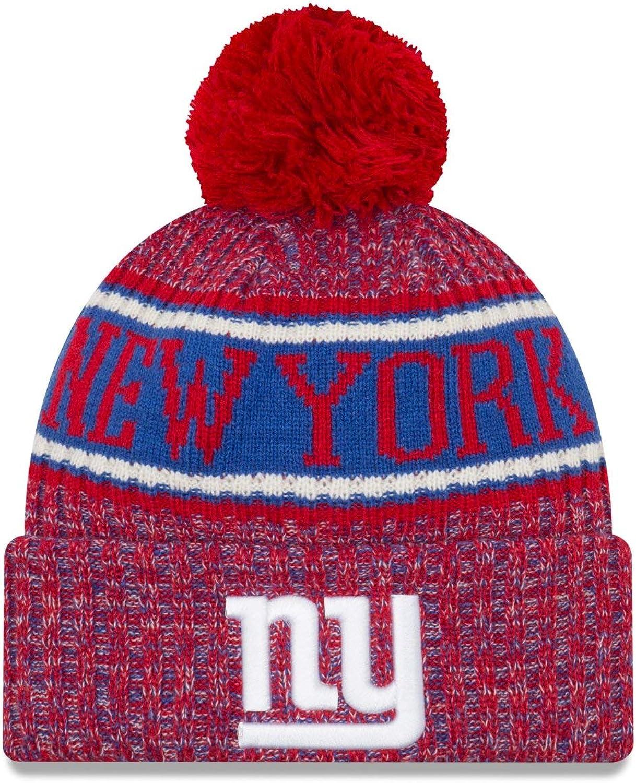 New Era NFL Sideline Reserve Beanie New York Giants