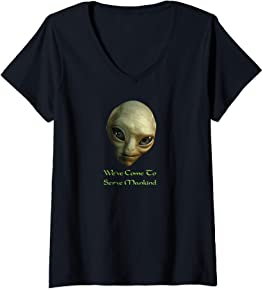 Alien Head T Shirt