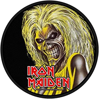 Official Iron Maiden Classic Standard Circles Woven Patch