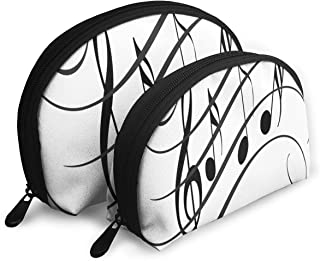 Makeup Bag LIVE MUSIC Handy Shell Toiletry Bags Holder For Women