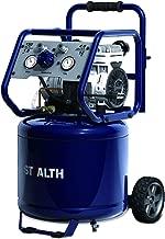 STEALTH Ultra Quiet Air Compressor, Oil-Free 1.5 HP 12 Gallon, 150 PSI, Long Lifecycle >1000H, Noise Less than 70 Decibels, Model: SAQ-11215