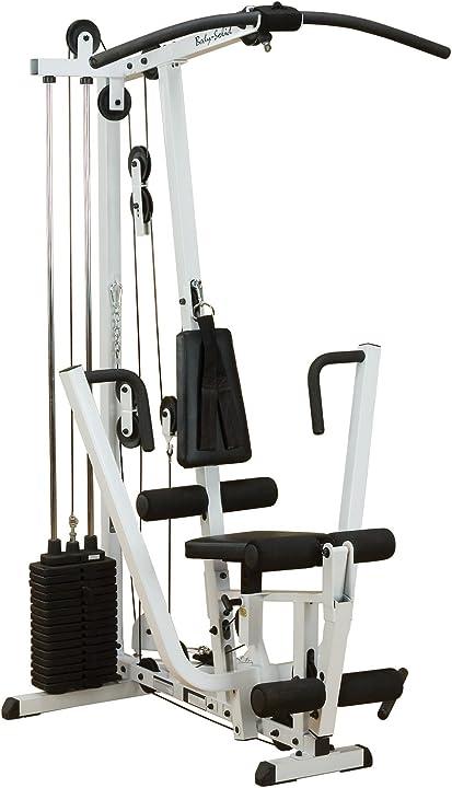Stazione allenamento pesi - allenamento home gym - body-solid functional training center 210 bodysolid EXM1500S