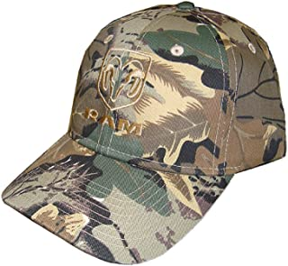 Hot Shirts - Men's Ram/ Camouflage Hat - Twill Front/Twill Back