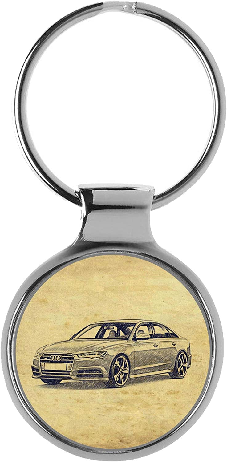 Limited time sale KIESENBERG Key Chain Ring Gift for A6 Fan Audi S6 Limousine Low price RS6