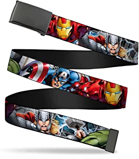 Boys' Big Kids Web Belt Avengers 1.0