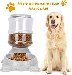 Handfly Dispensador de Agua para Perros Fuente de Agua para Gatos Dispensador de Agua para Perros Taz/ón de Comida para Perros Taz/ón de Comida para Gatos Alimentador de Mascotas para Perros y Gatos