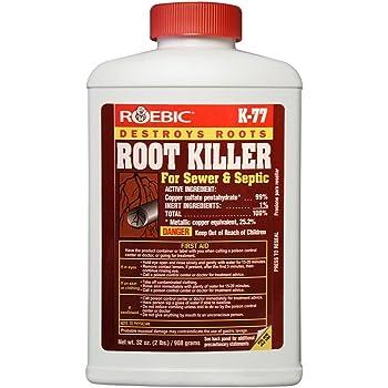 Roebic K-77-2LB Laboratories K-77 Root Killer, 32OZ