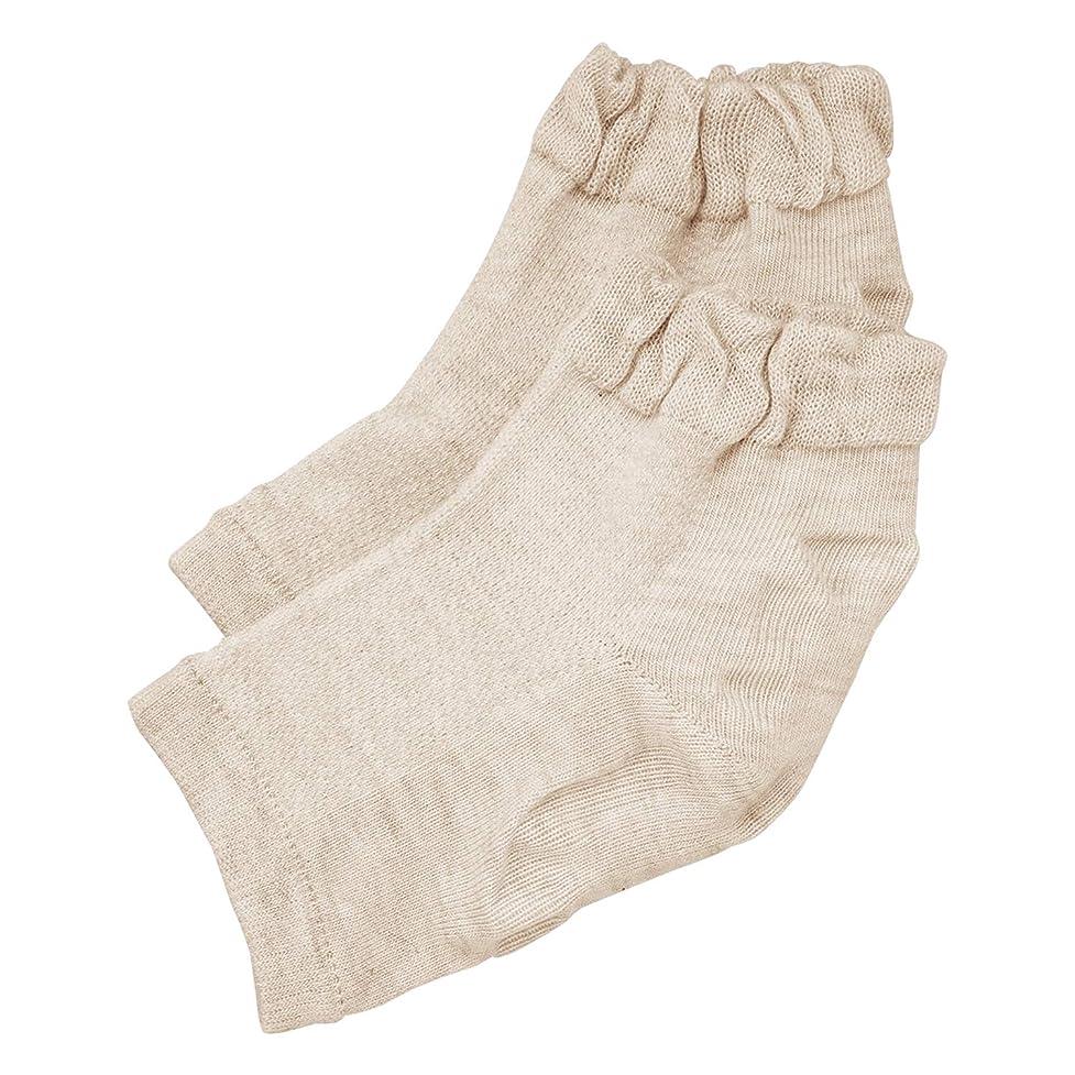 マリナーショットダルセット履き口ゆったりかかとつるり ケア 靴下 ガサガサ 保湿
