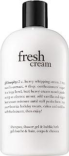 Philosophy Fresh Cream Shampoo, Shower Gel & Bubble Bath for Unisex, 453.59 Grams