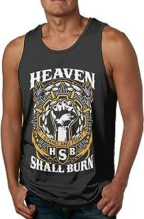 Heaven Shall Burn Tank Top Hombre Chaleco sin Mangas Chaleco Unique Sport Tees
