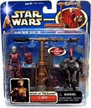Star Wars Attack of the Clones C-3Po with Droid Factor Assembly Line