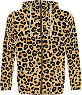 mens leopard print sweatshirt