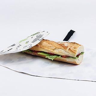 Imbissbeutel. Frühstückstüte. Vespertasche. Brotdose. Nachhaltigen Lebensführung.