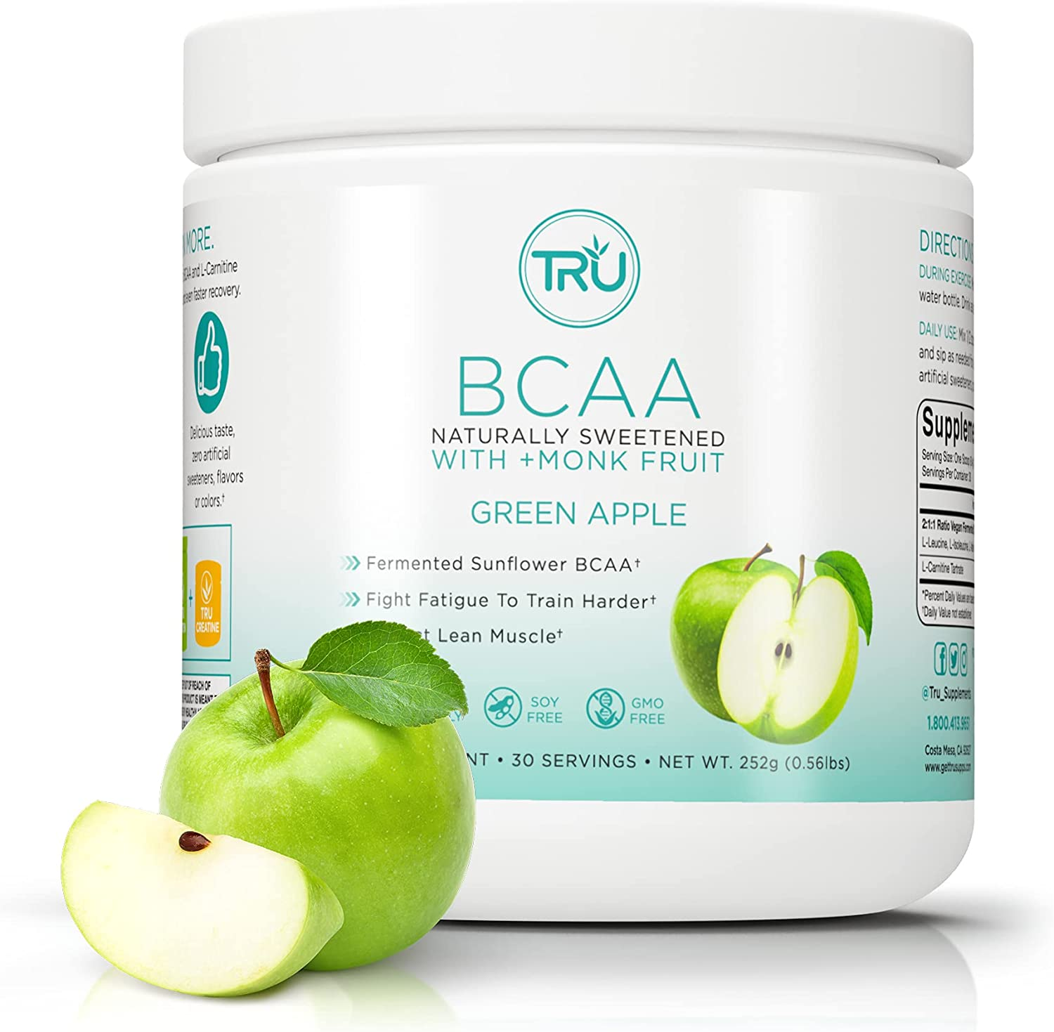 TRU Financial sales sale BCAA Plant Based Branched Friendly Acids Chain Indianapolis Mall Vegan Amino