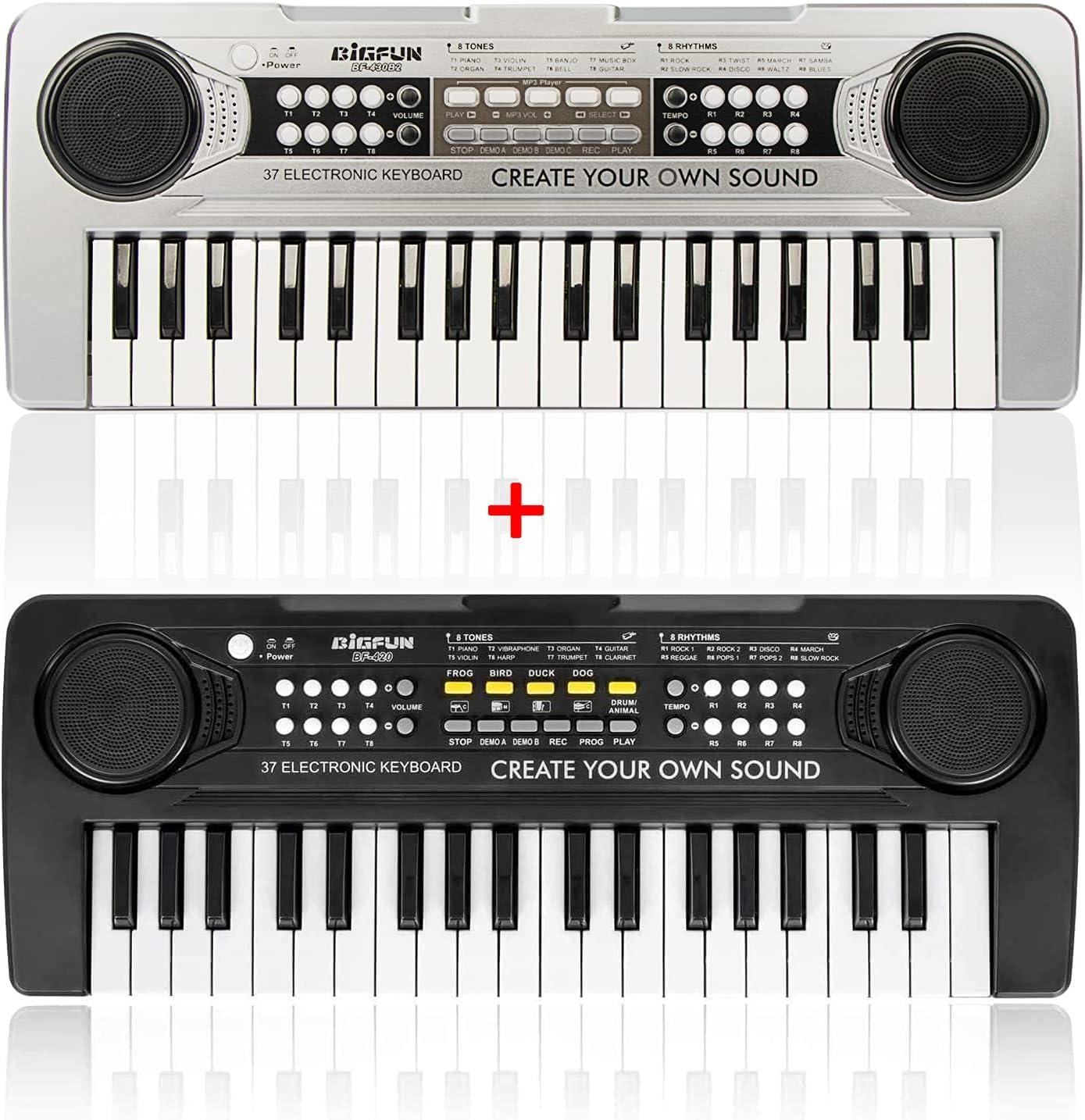 BIGFUN 37Keys Keyboard Piano for Pia Kids Ranking TOP18 Multifunction Musical 35% OFF