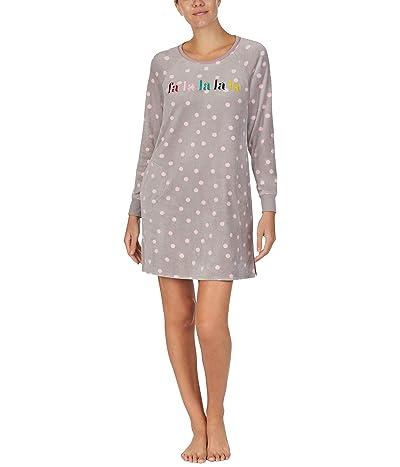 Kate Spade New York Stretch Velour Sleepshirt (Opal Bakery Dot) Women