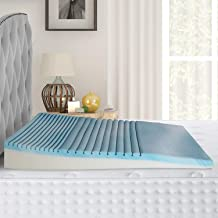 METRON-Hybrid high Slant Gel Memory Foam Double Comfort Bed Wedge Pillow Sleeping Acid Reflux Post Surgeries Leg Elevation