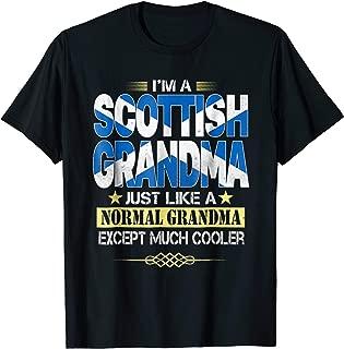 Scottish Grandma Shirt Mother's Day Gifts