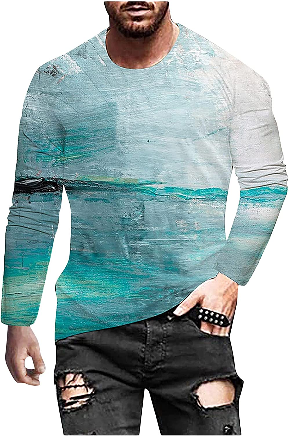 Men's Tops Ranking TOP18 Max 42% OFF 3D Vintage Printed Street Style T-Shirt Casual Retro