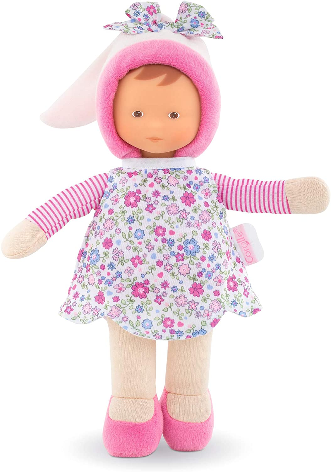 Corolle - Miss Corolle's Flowers - Mon Doudou Soft-body Baby Doll with Vanilla Scent, 9.5