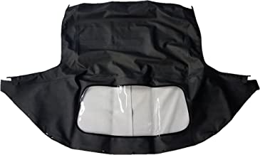 1989-2005 Mazda Miata Convertible Top - Complete w/Rear Plastic Curtain (1 Piece) - Original Cabrio Material