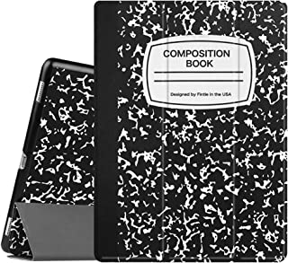 Fintie iPad Pro 12.9 Case - [SlimShell] Ultra Lightweight Standing Protective Cover with Auto Wake/Sleep for Apple iPad Pro 12.9 (1st Gen 2015) / iPad Pro 12.9 (2nd Gen 2017), Composition Book Black