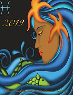 2019- Understanding Beautiful Pisces 2018-2019 18 Month Academic Year: Monthly Planner- July 2018 To December 2019 Weekly ...