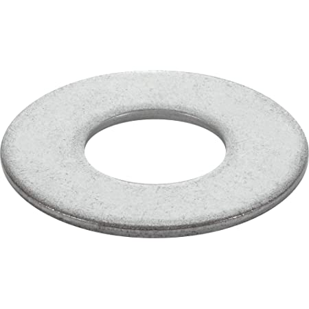"""Pack of 12 5//8/"""" Stainless Steel Flat Washers"""