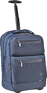 Wenger CityPatrol mochila portátil ruedas, portátiles hasta 16″, tabletas hasta 12″, 24 l, mujer, hombre, negocios, universidad, escuela, viajes, azul marino