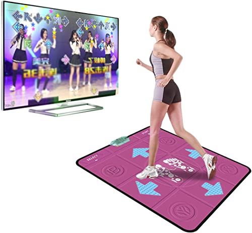 2021 Home Adult Kids Dance Mat Wireless Dance Mat Non-slip TV Game high quality + discount 2 Remotes Wireless Dual User Dancing Step Pads, Dancing Mat for Kids 6-12 Dancing Toy, Designed for 1 Person outlet sale