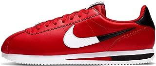 Nike Men's Cortez Basic Leather SE Casual Shoes (11, University Red/White/Black/White)