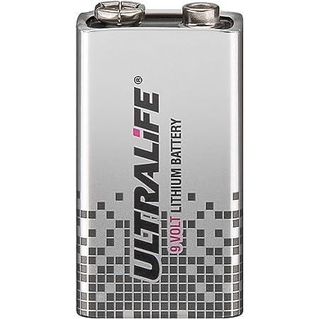 2er Set Ultralife 9 V Lithium Batterie Lithium 9 Volt Computer Zubehör