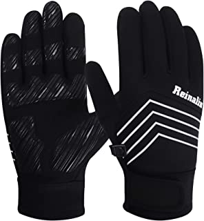 Reinalin Winter Gloves Cycling Gloves Bike Gloves Biking Gloves Driving Gloves Riding Gloves Running Gloves Touchscreen Gl...