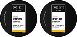 AXE Hair Paste for Men for Boosted Texture Messy Look Hair Styling Made Easy 2.64 oz 2 Count